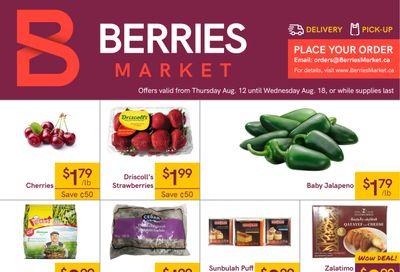 Berries Market Flyer August 12 to 18