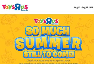 Toys R Us Flyer August 12 to 18