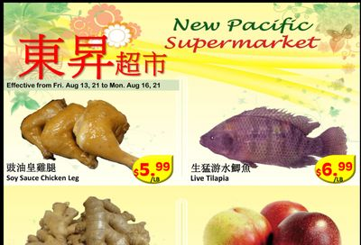 New Pacific Supermarket Flyer August 13 to 16