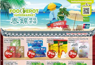 Food Depot Supermarket Flyer August 13 to 19