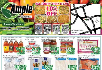 Ample Food Market (North York) Flyer August 13 to 19