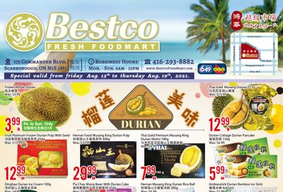 BestCo Food Mart (Scarborough) Flyer August 13 to 19