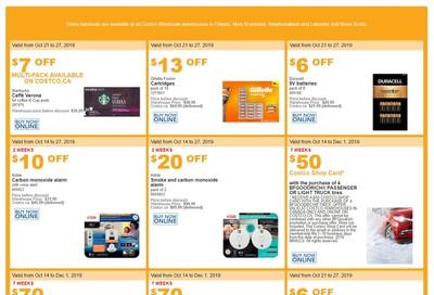 Costco (ON & Atlantic Canada) Weekly Savings October 21 to 27