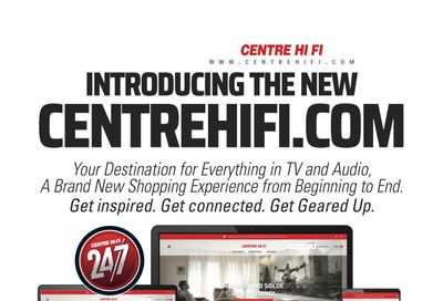 Centre Hi-Fi Flyer August 13 to 19