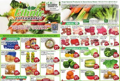 Ethnic Supermarket Flyer August 13 to 19