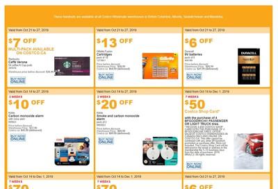 Costco (BC, AB, SK and MB) Weekly Savings October 21 to 27