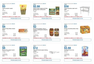 Costco Business Centre Instant Savings Flyer August 16 to 29