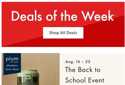 Chapters Indigo Online Deals of the Week August 16 to 22