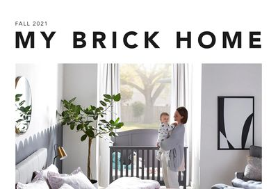 The Brick My Brick Home Flyer August 16 to September 30
