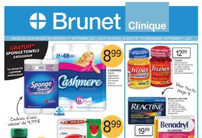 Brunet Clinique Flyer August 19 to September 1