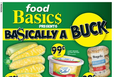 Food Basics Flyer August 19 to 25