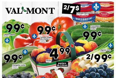 Val-Mont Flyer August 19 to 25