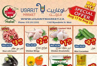 Ugarit Market Flyer August 17 to 23