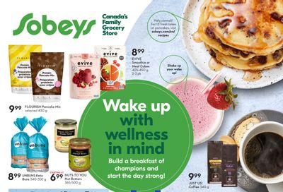Sobeys (Atlantic) Wake Up with Wellness in Mind Flyer August 19 to September 22
