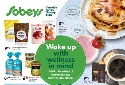 Sobeys (ON) Wake Up with Wellness in Mind Flyer August 19 to September 22