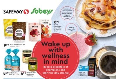 Sobeys/Safeway (AB, SK & MB) Wake Up with Wellness in Mind Flyer August 19 to September 22