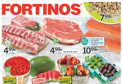 Fortinos Flyer August 19 to 25