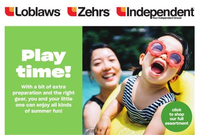 Loblaws (ON) Baby Flyer August 19 to September 1