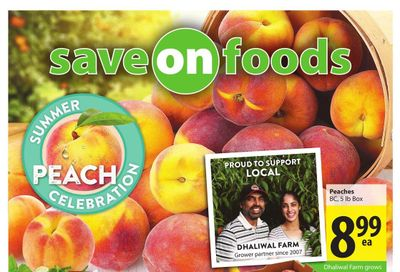 Save on Foods (BC) Flyer August 19 to 25