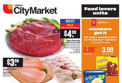 Loblaws City Market (West) Flyer August 19 to 25