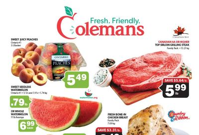 Coleman's Flyer August 19 to 25