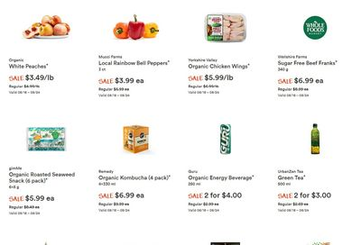 Whole Foods Market (ON) Flyer August 18 to 24