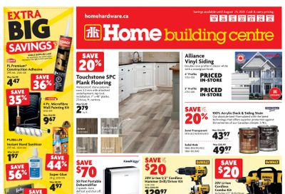 Home Building Centre (ON) Flyer August 19 to 25