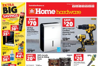 Home Hardware (Atlantic) Flyer August 19 to 25