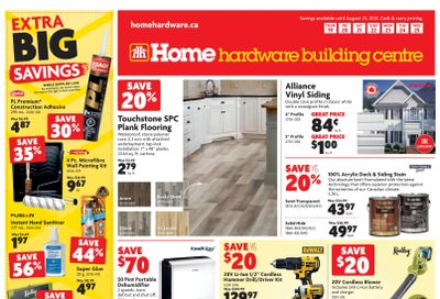 Home Hardware Building Centre (BC) Flyer August 19 to 25