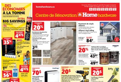 Home Hardware Building Centre (QC) Flyer August 19 to 25