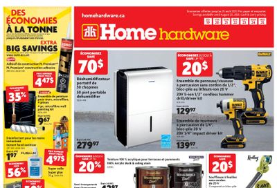 Home Hardware (QC) Flyer August 19 to 25