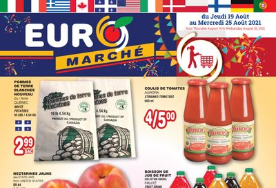 Euro Marche Flyer August 19 to 25