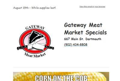 Gateway Meat Market Flyer August 19 to 25