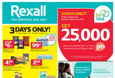 Rexall (London, ON) Flyer August 20 to 26