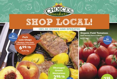 Choices Market Flyer August 19 to 25