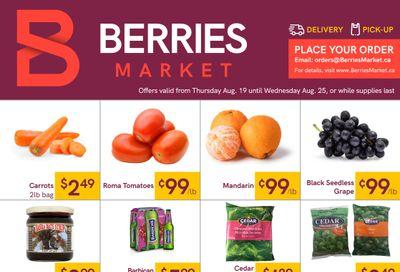 Berries Market Flyer August 19 to 25