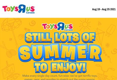 Toys R Us Flyer August 19 to 25