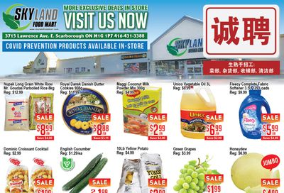 Skyland Food Mart Flyer August 20 to 26