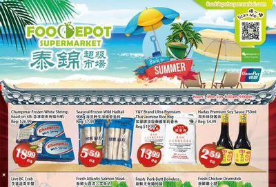Food Depot Supermarket Flyer August 20 to 26