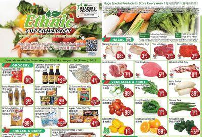 Ethnic Supermarket Flyer August 20 to 26