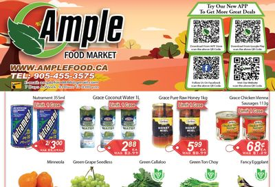 Ample Food Market (Brampton) Flyer August 20 to 26