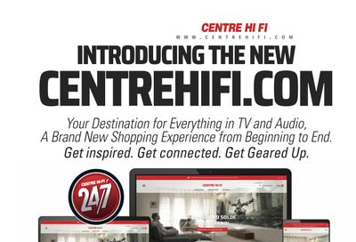 Centre Hi-Fi Flyer August 20 to 26