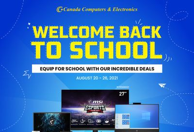 Canada Computers Flyer August 20 to 26