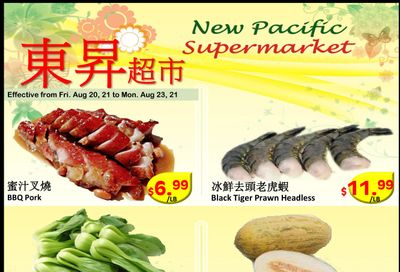New Pacific Supermarket Flyer August 20 to 23