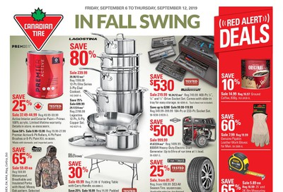 Canadian Tire (West) Flyer September 6 to 12