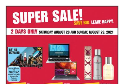 Shoppers Drug Mart (ON) Flyer August 28 to September 2