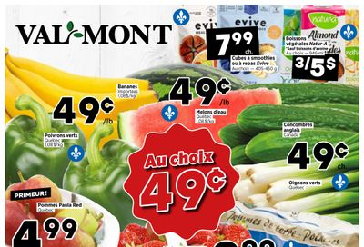 Val-Mont Flyer August 26 to September 1