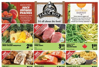 Farm Boy Flyer August 26 to September 1