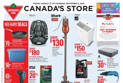 Canadian Tire (ON) Flyer August 27 to September 2