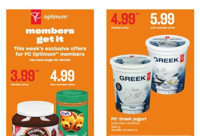 Loblaws City Market (West) Flyer August 26 to September 1